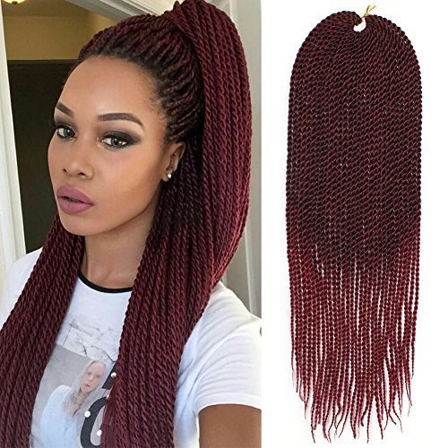 3packs 18inch 30standspack Senegalese Twist Crochet Braids Available