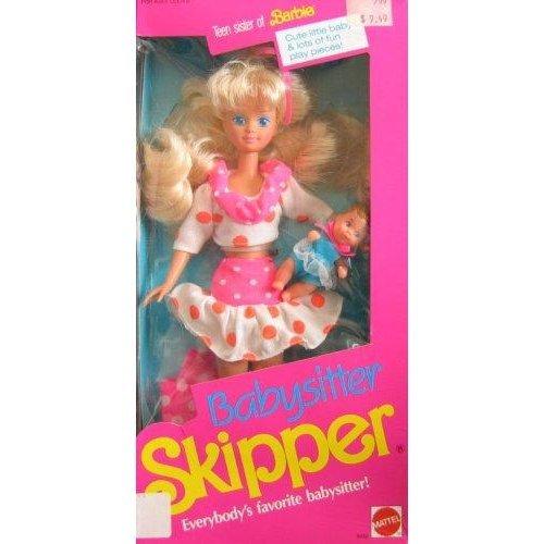 Barbie Babysitter SKIPPER Doll (1990)