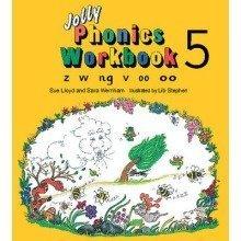 Jolly Phonics Workbook 5: Z, W, Ng, V, Oo