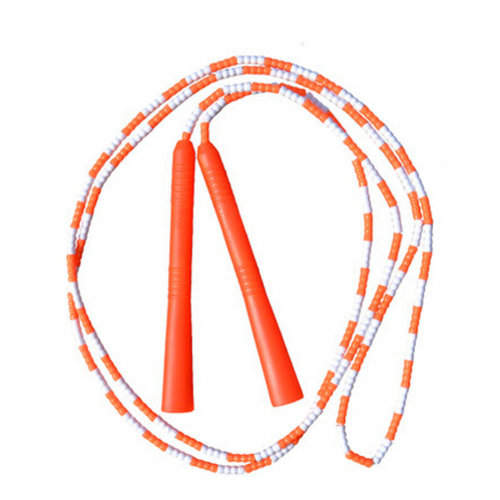 Fitness Training  Lightweight Easily Adjustable Jump Rope,Orange&White
