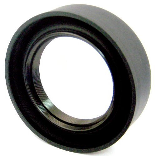 Zeikos ZE LH52 52mm Soft Rubber Lens Hood Black