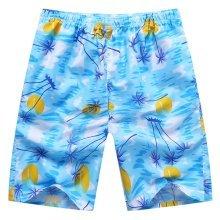Summer Men's Casual Sports Pants Soft Beach Pants Quick-Drying