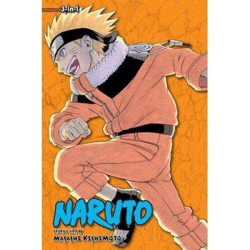 Naruto (3-in-1 Edition), Vol. 6: Volume 16, 17 & 18