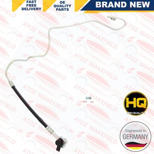 FOR AUDI SEAT SKODA VW REAR RIGHT RH BRAKE HOSE METAL PIPE FITTED SET BRAND NEW
