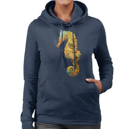 Seahorse Treasure Women's Hooded Sweatshirt