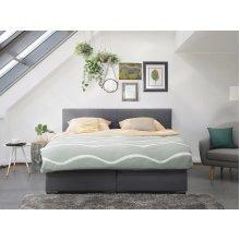 Super King Size Bed - Pocket Sprung Mattress - Box Spring - 180x200 cm - ADMIRAL