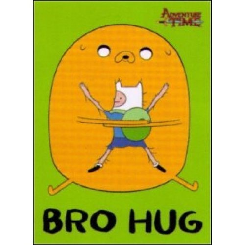 Adventure Time Bro Hug Magnet