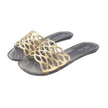 Classic Women Slippers Bathroom Slippers Beach Pool Slipper Sandal , D