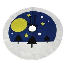 [Dreamland] Simple Design Tree Skirt for Christmas Decoration