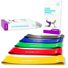 Resistance Bands – Best Exercise Loop Band Set of 5