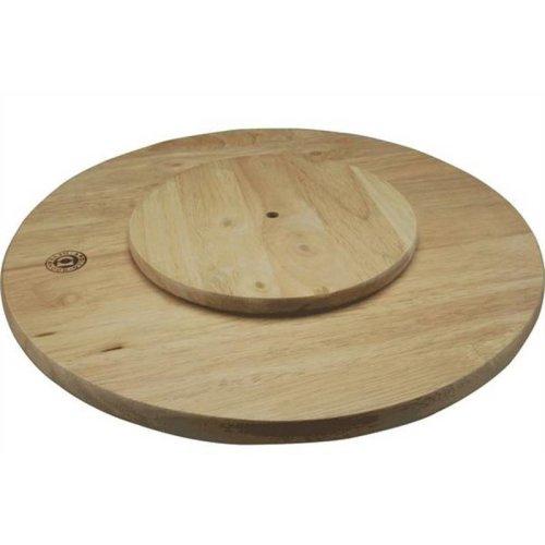 Rubber Wood Lazy Susan Board