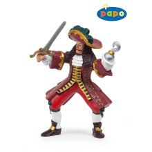 Papo Pirate Captain Figure - 39420 Corsair -  papo captain 39420 pirate figure corsair