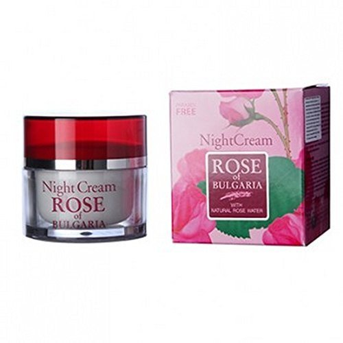 Biofresh Anti Age Night cream Rose of Bulgaria Smoothes wrinkles stimulating the process of cells restoring by Bio Fresh