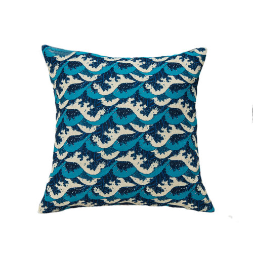 Decorative Linen Square Throw Pillow Japanese-style Cushion 45 X 45 CM-A3