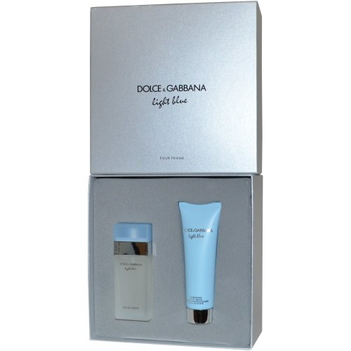 60feb3cf3575 Dolce & Gabbana Light Blue Eau de Toilette Spray 25ml & Refreshing Body  Cream 50ml on OnBuy