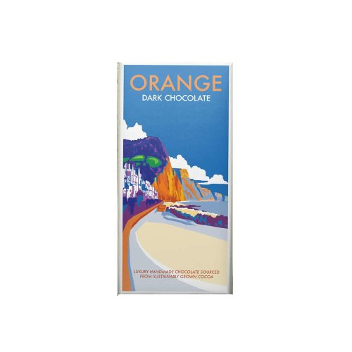 Kernow Orange Dark Chocolate 100g