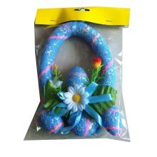 Children Bubble Easter Eggs/Egg Ring/Party Decorations/Gifts-Blue