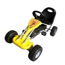 Yellow Pedal Go Kart