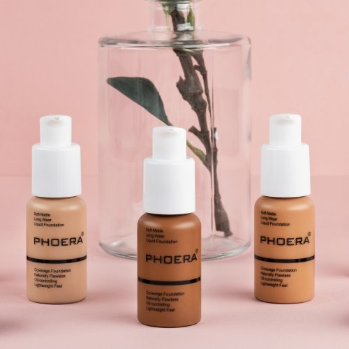 Phoera Full Coverage Matte Liquid Foundation