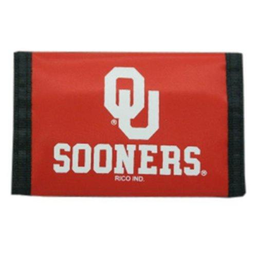 Oklahoma Sooners Nylon Trifold Wallet
