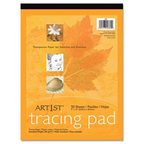Pacon 2317 Art1st Parchment Tracing Paper  14 x 17  White  50 Sheets