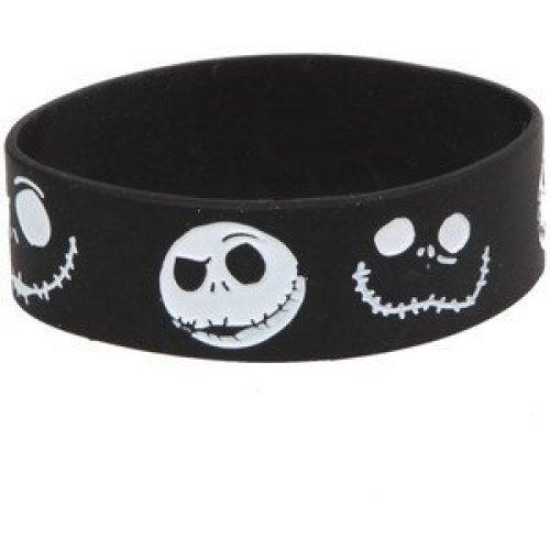 Nightmare Before Christmas Silicone Rubber Wrist Band
