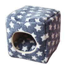 Four Seasons Universal Small-scale Pet House Cat Cave Cat Mat [Star] [A]