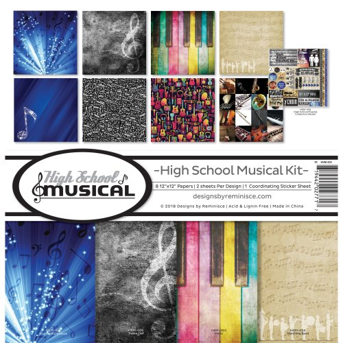 """Reminisce Collection Kit 12""""X12""""-High School Musical"""