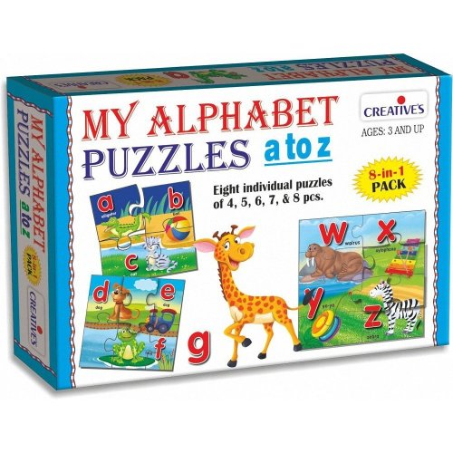 My Alphabet Puzzles A To Z - Creative Cre0793 Educational -  creative puzzles my alphabet cre0793 educational