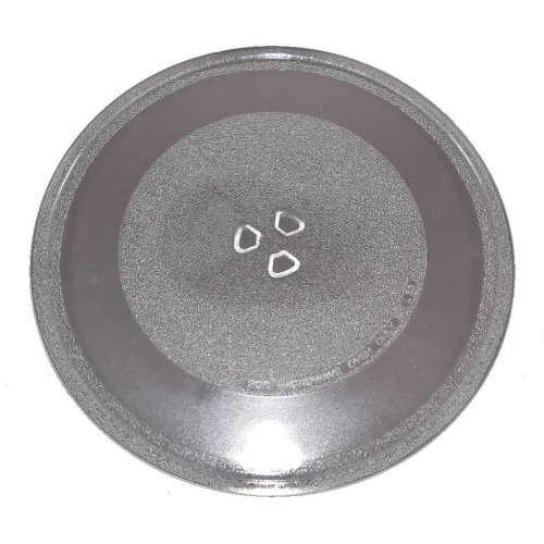 Microwave Turntable Glass 320mm Fits Samsung and Sanyo Universal