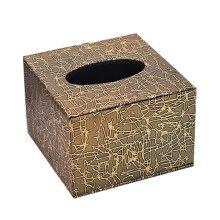 Continental Fashion Practical Storage Tissue Boxes Leather