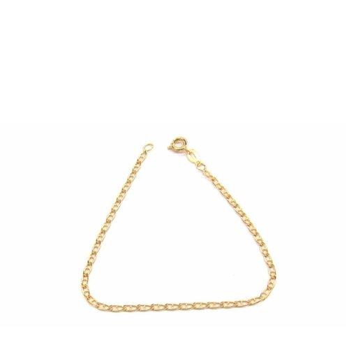 New 9 CT Gold Filled Marine Link Bracelet Teenager or Lady B25