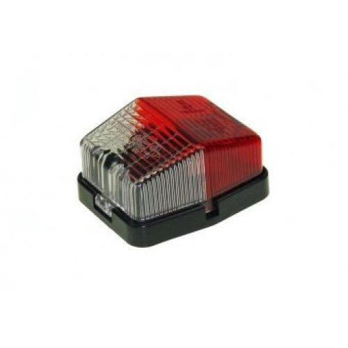 Jokon Spl115 End Outline Marker - Lamp Maypole Redwhite -  marker lamp maypole jokon redwhite