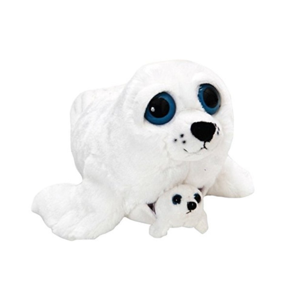 The Petting Zoo Bright Eye Pocketz Harp Seal Mom and Baby 13 inches - d168d974330c39f , The-Petting-Zoo-Bright-Eye-Pocketz-Harp-Seal-Mom-and-Baby-13-inches-13495718 , The Petting Zoo Bright Eye Pocketz Harp Seal Mom and Baby 13 inches , Array , 13495718 , Toys & Games , OPC-PF5HYT-NEW