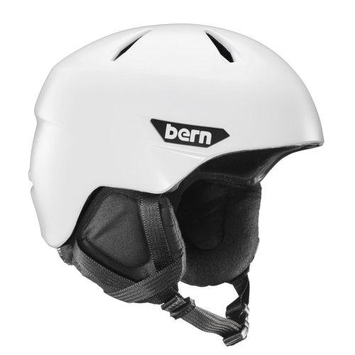 Bern Weston Helmet - Satin White w/ Black Liner  Large