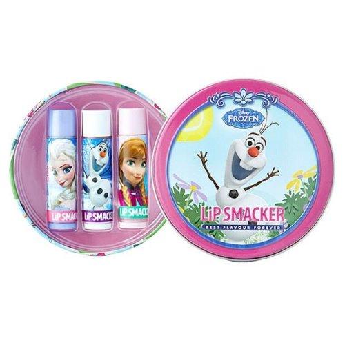 Lip Smacker Disney Frozen Round Tin- Olaf in Summer 3 pcs