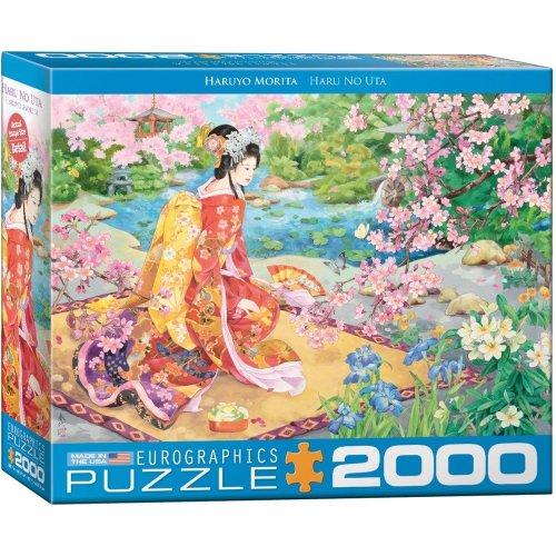 Eg82200975 - Eurographics Puzzle 2000 Pc - Haru No Uta by Haruyo Morita