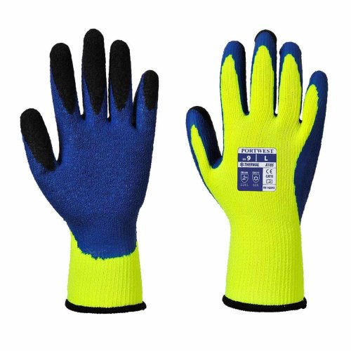 sUw - 1 Pair Pack Duo-Therm Gripper Hand Protection Glove