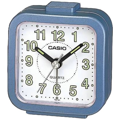Casio Beep Blue Alarm Clock TQ141-2