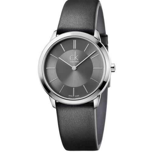 Calvin Klein Minimal Leather Unisex Watch Watch K3M221C4