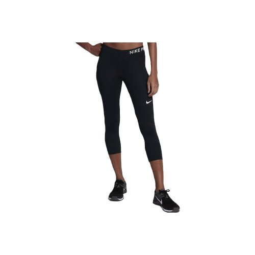 Nike Pro Capri 3/4 889567-010 Womens Black leggings
