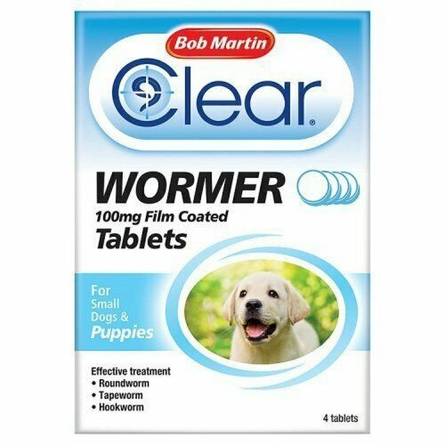 Bob Martin Puppy Dewormer Tablets (6 Packs)