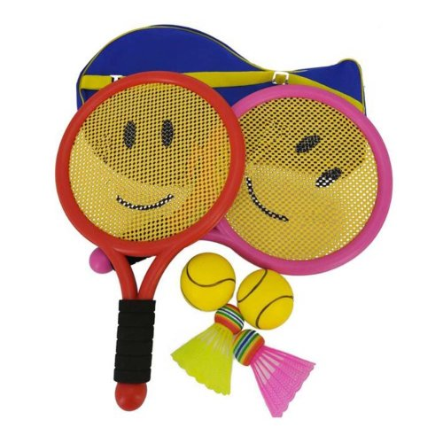 Cute Mini Badminton Tennis/Racket Toy Children Suits-Smile