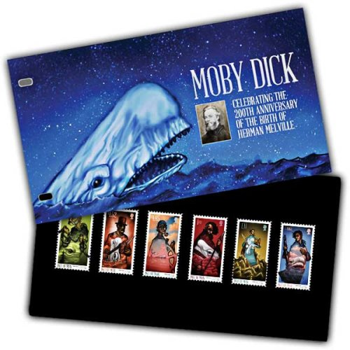 Isle of Man 2019 Stamps Moby Dick Presentation Pack