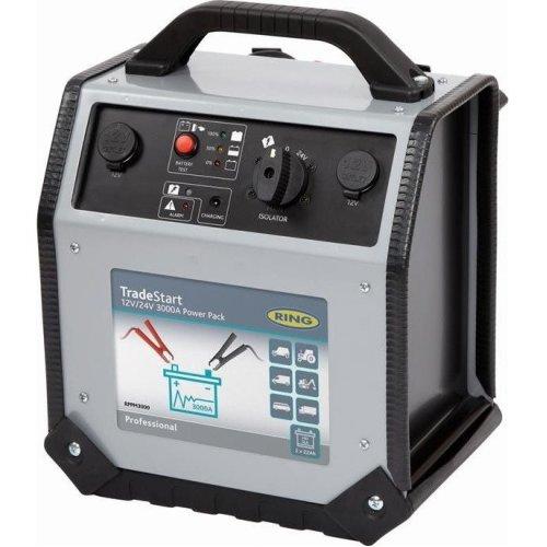 Ring 12v/24v 3000A TradeStart Metal PowerPack Jump Starter Pack ERPPS3000