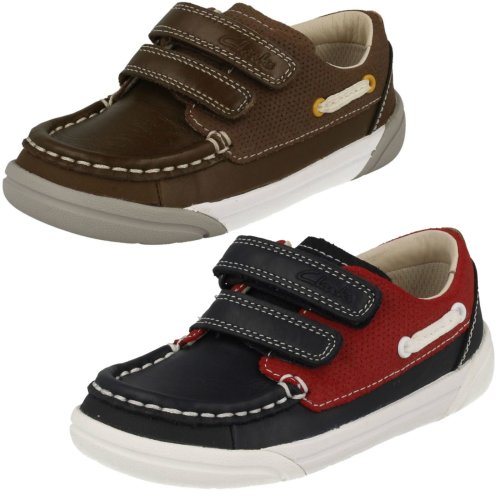 Boys Clarks Casual Shoes Lil Folk Fun - G Fit