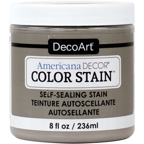 Americana Decor Color Stains 2oz-Ash Grey
