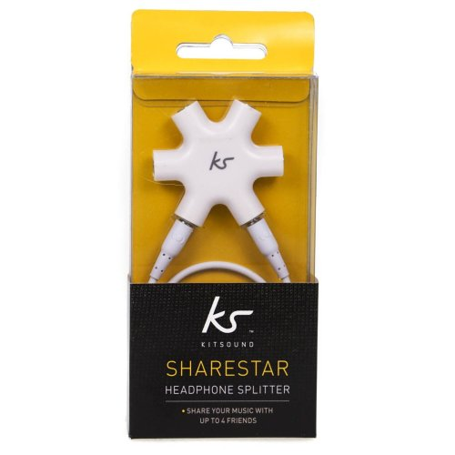 Kitsound Sharestar Headphone Splitter