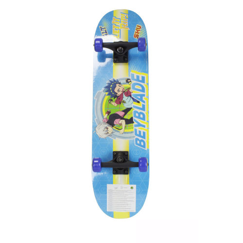 BEYBLADE Burst Kid's 31-inch Skateboard with Dual Printed Sides (OBEY009)