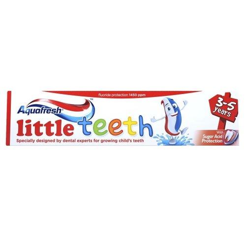 Aquafresh 50ml Little Teeth Fluoride Toothpaste 3-5 Years
